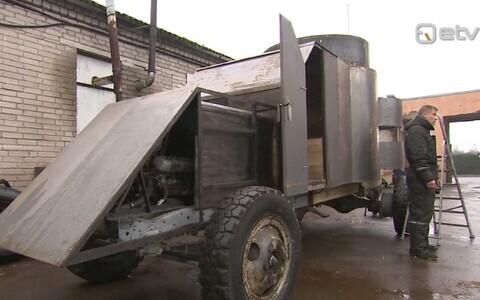 Vabariigi 100. sünnipäevaks valmib Vabadussõja aegse soomusauto koopia.