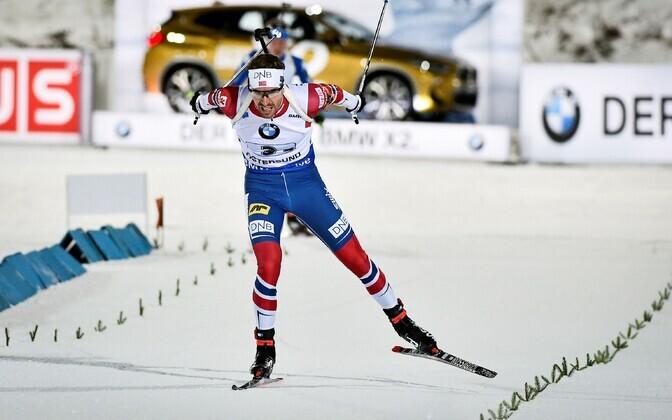 Эмиль Хегле Свенсен принес победу сборной Норвегии