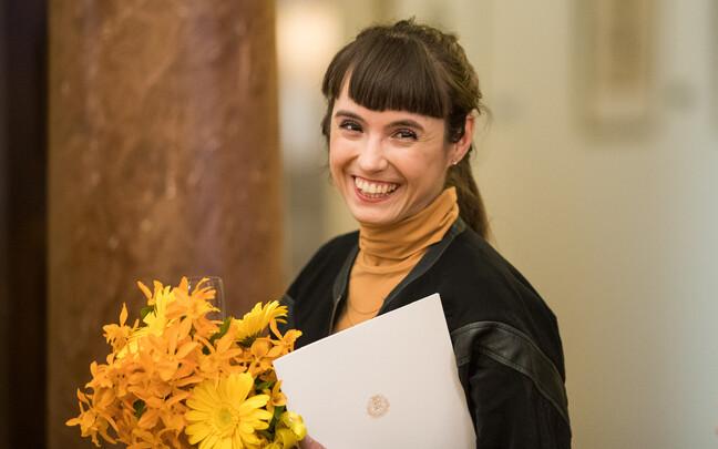 В 2017 году Катя Новичкова получила премию