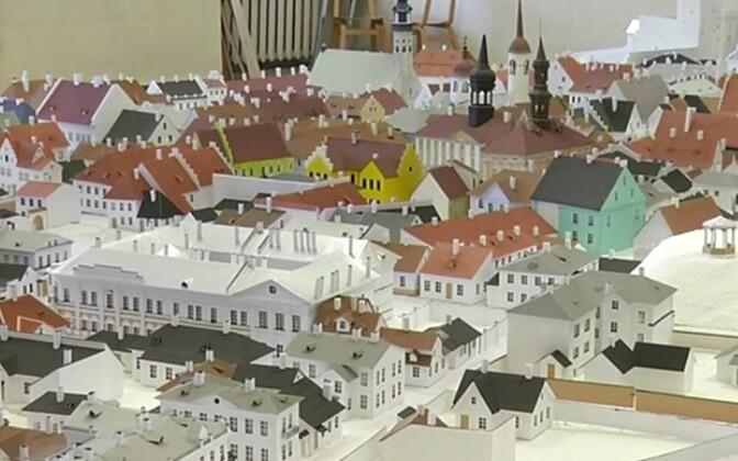 Vana-Narva makett, autor Fjodor Šantsõn