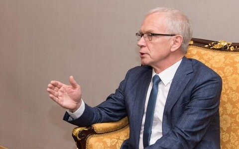 President of the Riigikogu Eiki Nestor.