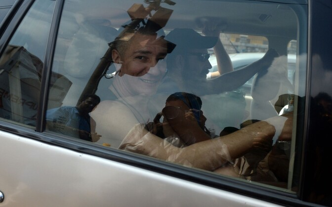 The acquitted ship guards were released from prison in India on Nov. 28.
