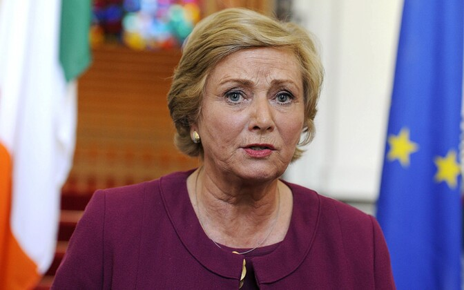 Iiri asepeaminister Frances Fitzgerald.