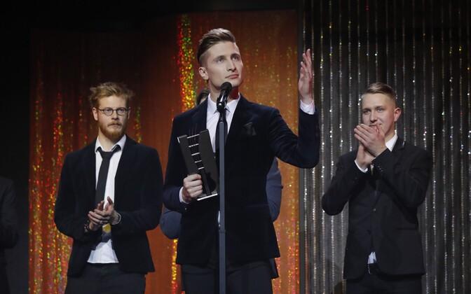 Eesti Muusikaauhinnad 2017 auhinnatseremoonial oli edukaim Karl-Erik Taukar.