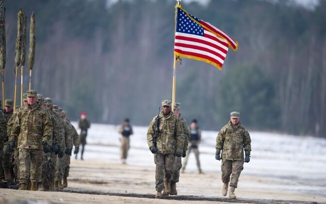 USA sõdurid Poolas õppusel.