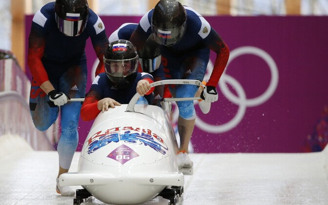 Venemaa II neljabobi Sotši olümpial