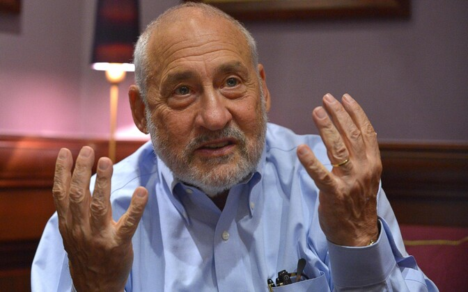 Majandusteadlasest nobelist Joseph Stiglitz.