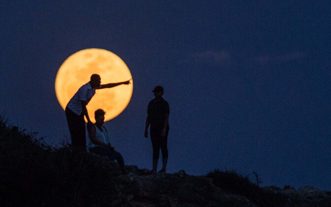 Kuu Dar es Salaami kohal.