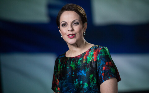 Yle 1 diktor Anna-Liisa Tilus