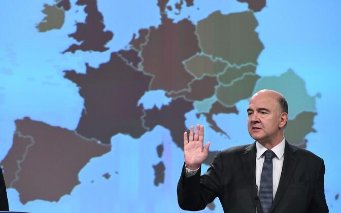 Euroopa Komisjoni maksuvolinik Pierre Moscovici.