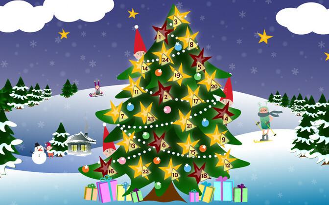 Lastejaama jõulukalender