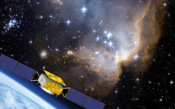 Hiina tumeainet otsiv satelliit DAMPE