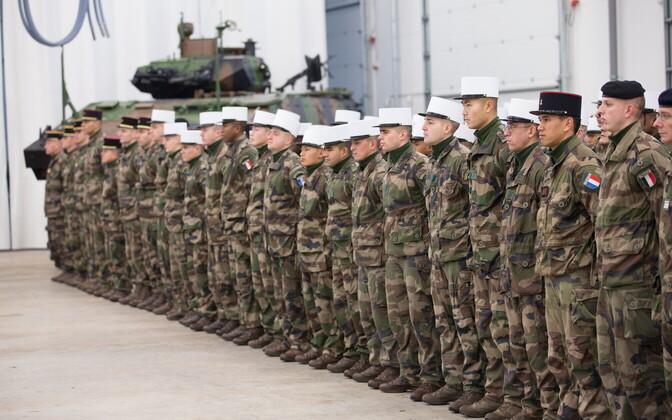 Prantsuse sõjaväelased.