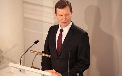 TÜ rektor Volli Kalm.