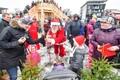 Шествие Санта-Клаусов в Раквере
