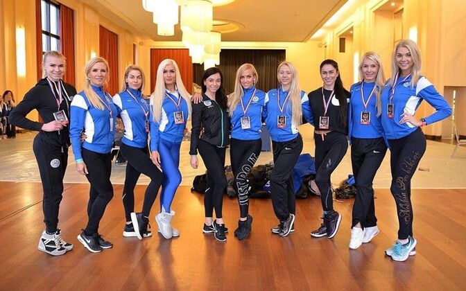 Eesti koondis fitnessi MM-il