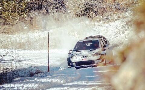 Ott Tänak - Martin Järveoja Toyota Yarises