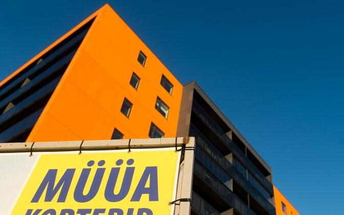 Новые жилые дома в Таллинне растут, как грибы после дождя.