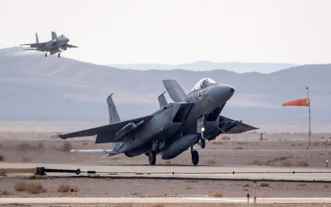 Iisraeli õhuvägede F-16.