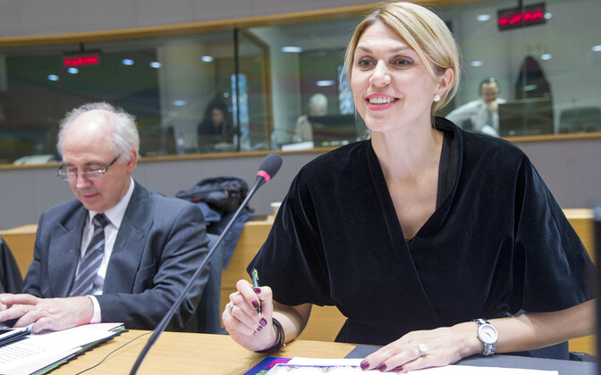 Minister of Entrepreneurship and Information Technology Urve Palo (SDE).