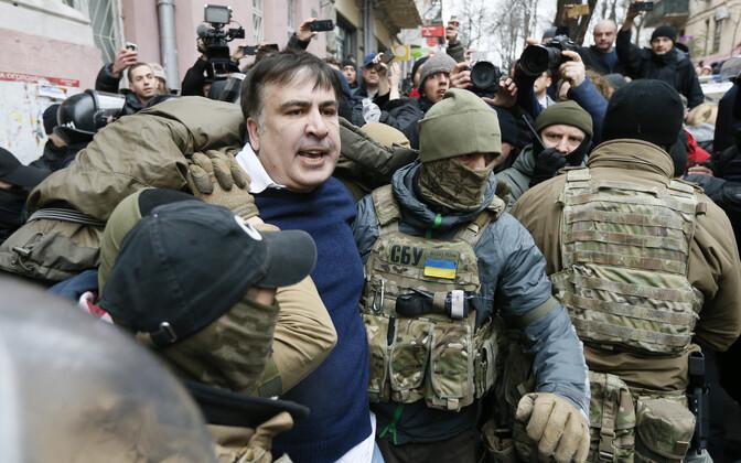 Mihheil Saakašvili Kiievis kinnipidamisel