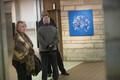 Priit Vaher näituse avamine. Rahvusraamatukogu.