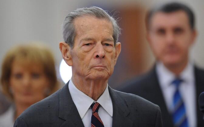 Endine Rumeenia kuningas Mihai 2011. aastal.