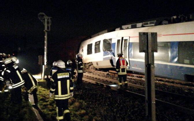 Rongiõnnetus Saksamaal.
