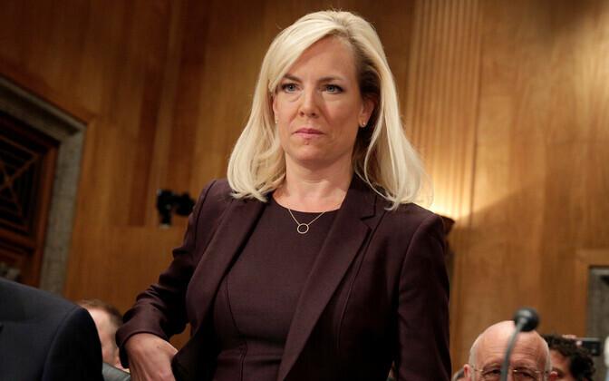 USA sisejulgeolekuminister Kirstjen Nielsen.