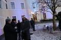 Ühislaulmine Soome Vabariigi suursaatkonna õuel