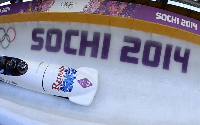 Venemaa neljabobi Sotši olümpial