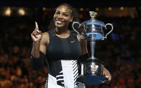 Serena Williams võidutses tänavu Austraalia lahtistel seitsmendat korda.