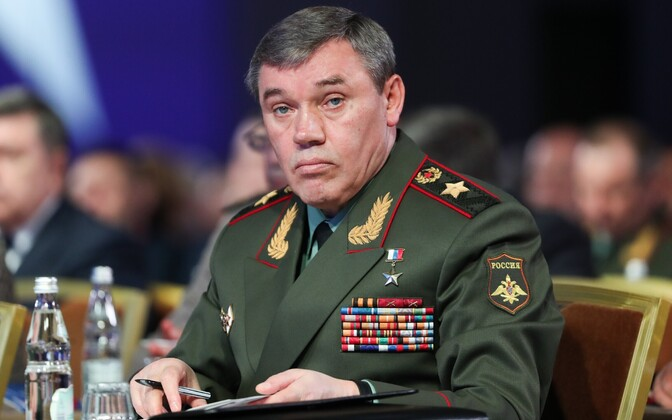 Начальник Генерального штаба РФ Валерий Герасимов.