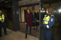 The 14 Estonian ship guards arrived in Estonia late Wednesday night. Dec. 6, 2017.