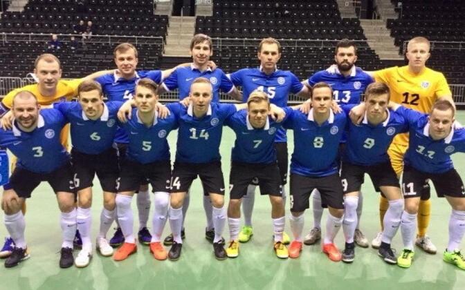 Eesti saalijalgpallikoondis