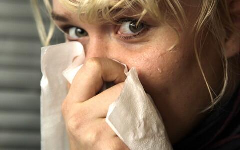 Nina nuuskav haige.