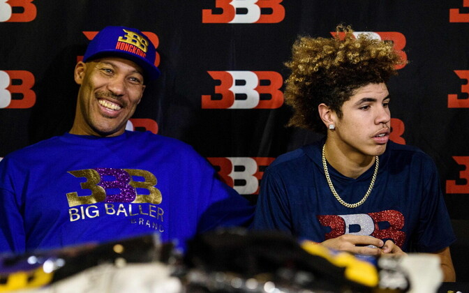 LaVar Ball ja LiAngelo Ball