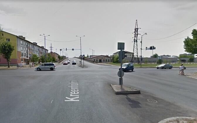 Тяжелое ДТП на перекрестке улиц Пауля Кереса и Креэнхольми в Нарву будет рассматривать суд.
