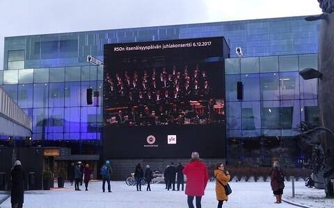 Soome 100 pidustused koos Eesti Rahvusmeeskooriga