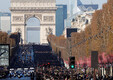 Johnny Hallyday saadeti Pariisis viimsele teekonnale
