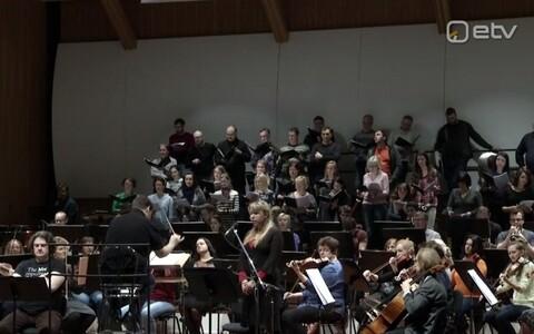 Eestikeelset osa esitab oratooriumis Mari Kalkun.