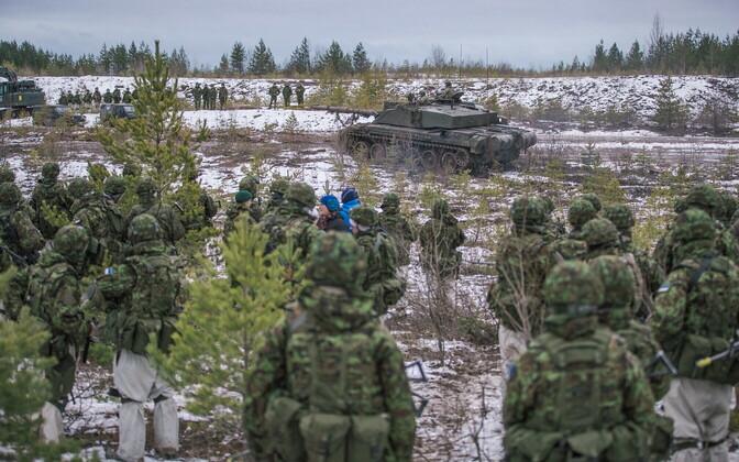 ВЭстонии прошли внеочередные сборы резервистов
