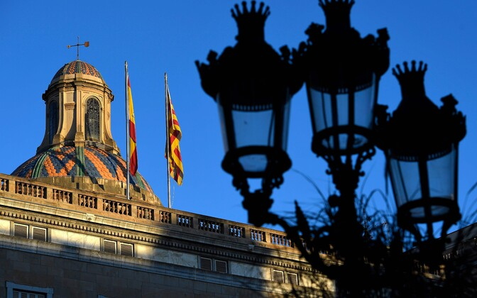 Kataloonia regionaalvalitsuse hoone Barcelonas.