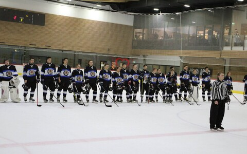 Молодежная сборная Эстонии по хоккею.
