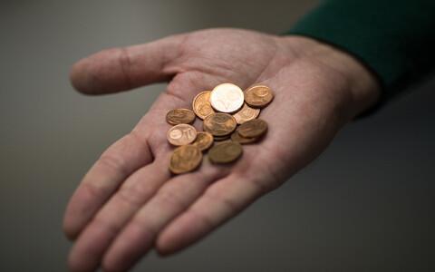 Монеты достоинством в 1 и 2 цента