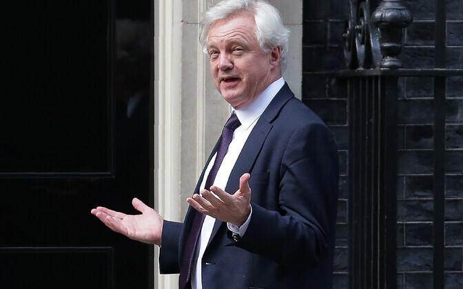 Suurbritannia Euroopa Liidust lahkumise minister David Davis.