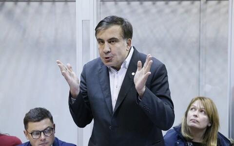 Выступление Михаила Саакашвили в суде.