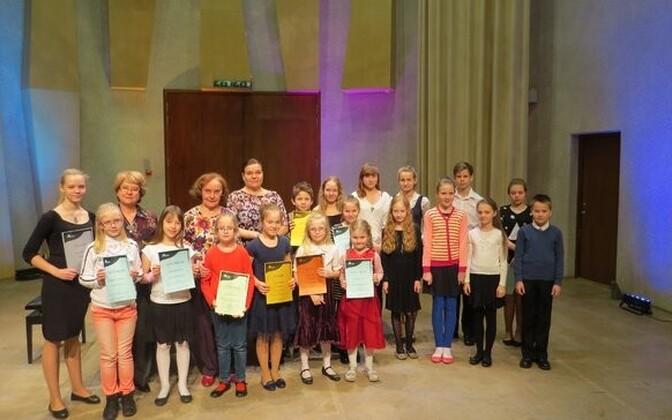 Pärnu muusikakooli õpilased