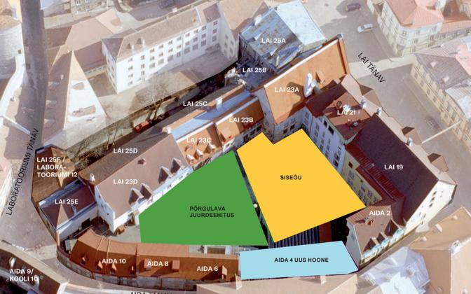 Linnateatri plaan.