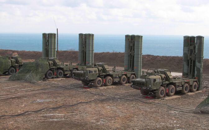 Vene raketisüsteem S-400.